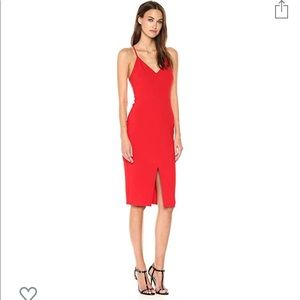 Likely Brooklyn Dress in Red